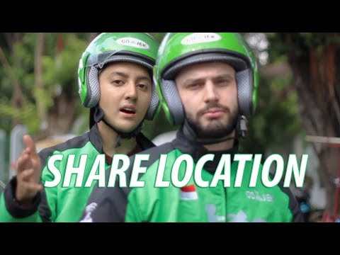 GOJEK PARODY (SHARE LOCATION)