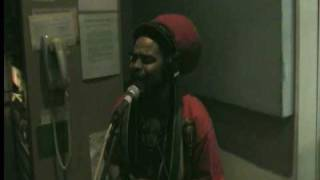 Ras Iba- Gun Thing ft. Tuff Lion, Acoustic session at KALX