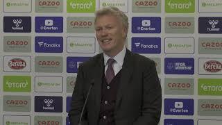 Everton 0-1 West Ham - David Moyes - Post-Match Press Conference