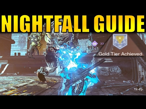 Destiny: Nightfall Gold Tier Guide! (The Abomination Heist)