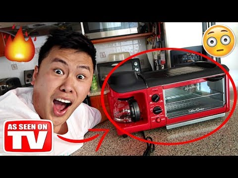 THIS INSTANTLY TURNS ANYTHING EDIBLE!!!!! *STARTED A FIRE GONE WRONG* (TESTING CRAZY GADGETS)