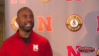 Watch: Nebraska offensive coordinator Troy Walters on better blocking