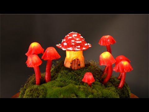 ❣DIY Fairy Garden Mushroom Lights❣