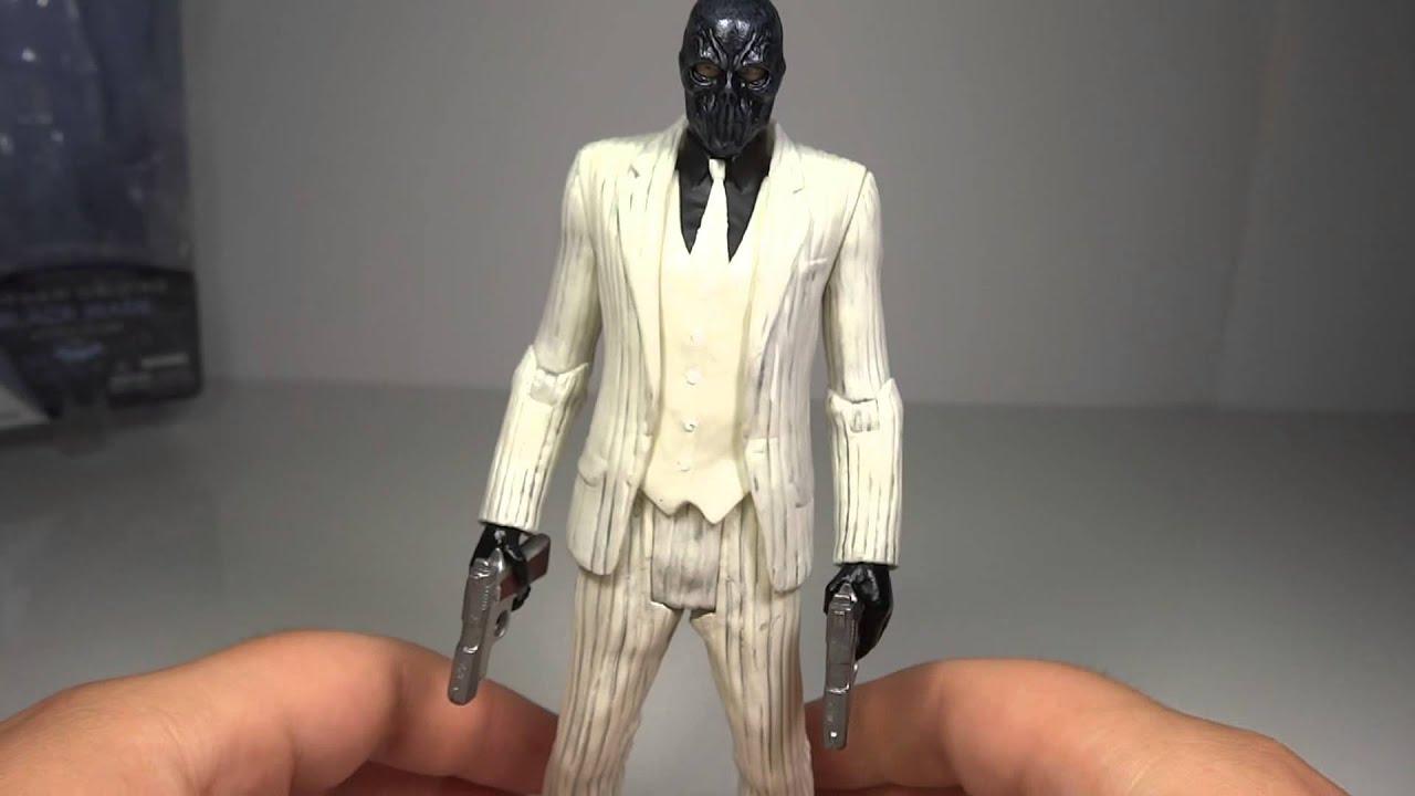 Batman Arkham Origins Series 1 Black Mask Toy Review