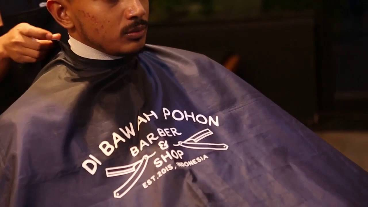 Undercut Hairstyle Review With Pompadour Pomade Waterbased - Hairstyle barbershop indonesia
