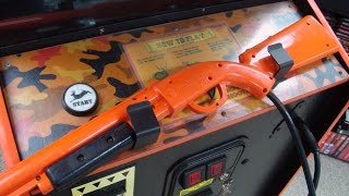 Deer Hunting U.S.A. Arcade Game by Sammy USA - Yee HAW FUN!