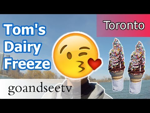 TOM'S DAIRY FREEZE ~ BEST TORONTO Soft Serve Ice Cream - Toronto Canada Travel Guide - SEE TORONTO