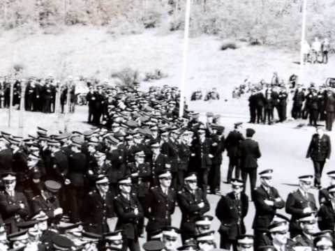miners picket Hunterston 1985