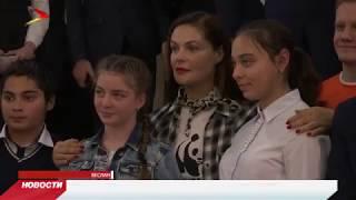Екатерина Андреева прочитала лекцию в 8-ой школе города Беслана