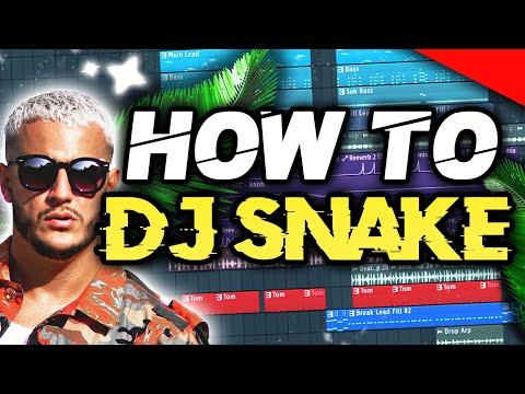 HOW TO MAKE DJ SNAKE STYLE - FL STUDIO TUTORIAL (+FLP/ALS)