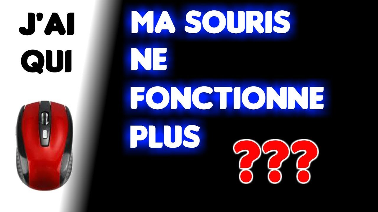 j 39 ai ma souris qui ne fonctionne plus astuces d pannage p riph riques youtube. Black Bedroom Furniture Sets. Home Design Ideas