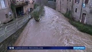 Inondations à Saint-Pons-de-Thomières (34)