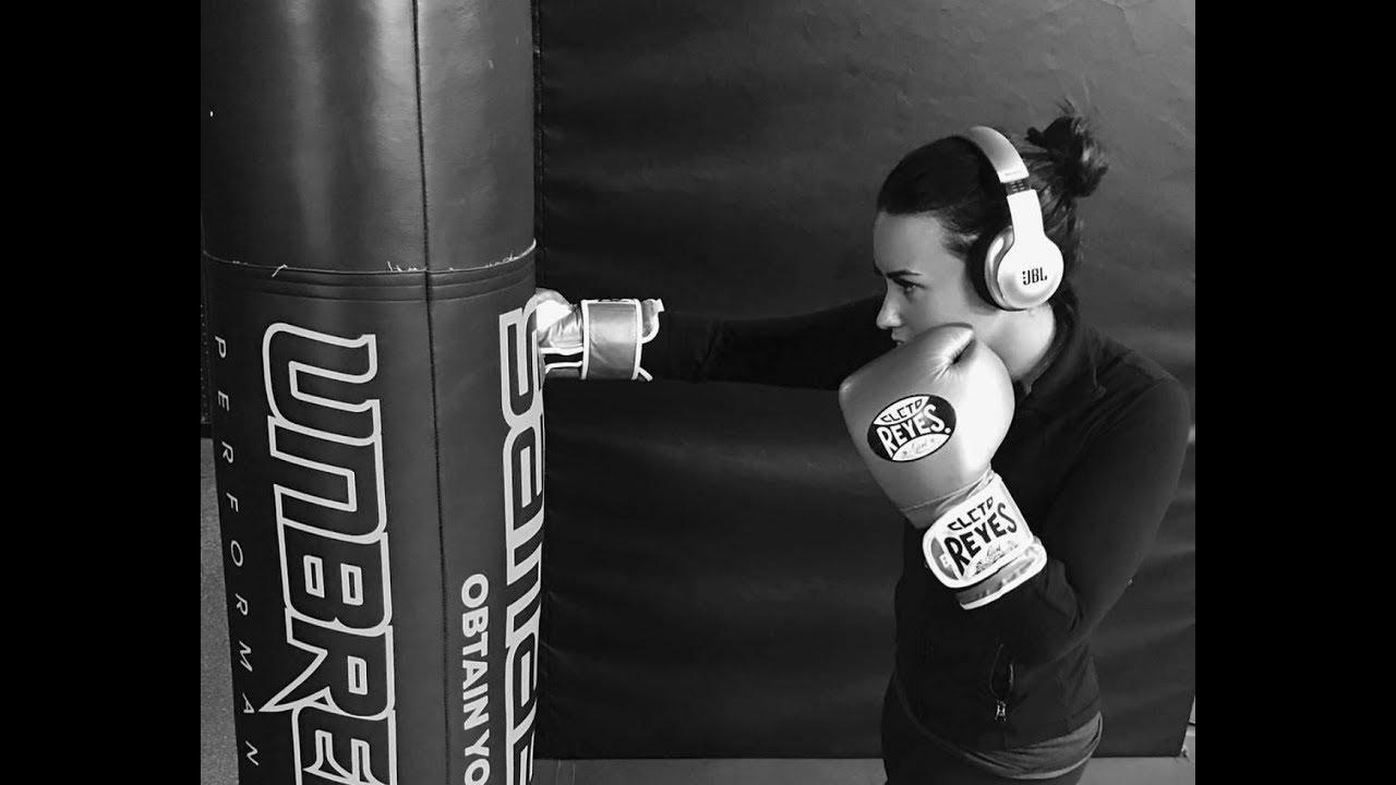 Demi Lovato Training Mma