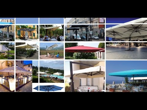 Ombrelloni Da Giardino A Verona.Ombrelloni Da Giardino Youtube