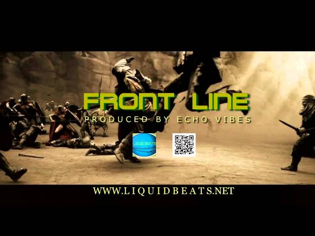 New 2015 hip hop instrumental Front Line (Prod. by Echo Vibes)