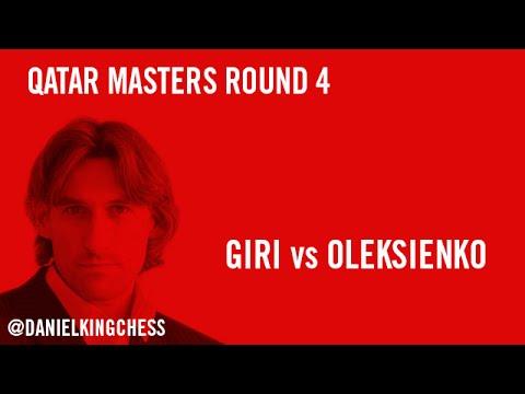 Qatar Masters 2014 Round 4 Giri vs Oleksienko