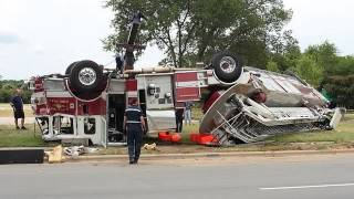 Unbelievable Fire Truck Crashes
