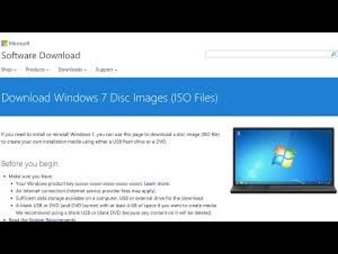 How To Download Windows 7 (ISO) Free From Official Site 2019 - Technical Kashif