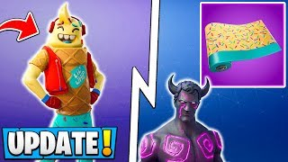 *ALL* Fortnite 7.40 Leaks! | IceCream Skin, New Wraps, Emotes, Mr. Love!