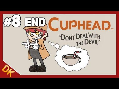컵헤드 #8 [마지막 화],  그림체 미쳤다... 고난이도 게임? 켠왕 갑니다 (Cuphead) - 똘킹 게임영상