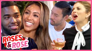 The Bachelorette: Roses \u0026 Rosé: Deep Talks, Disgusting Dates \u0026 Tayshia's Most SHOCKING Rose Ceremony
