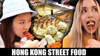 4 ICONIC HONG KONG STREET FOODS | Eating Food With Foodies On Friday Ep. 1