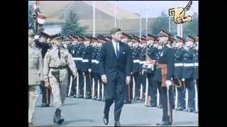 John F. Kennedy in Berlin (1963 in Farbe)