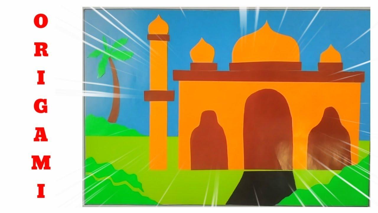 Cara Bikin Masjid Dari Origami Nusagates