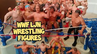 80s Toys WWF LJN Vintage Wrestling Superstars Figures My Childhood Collection
