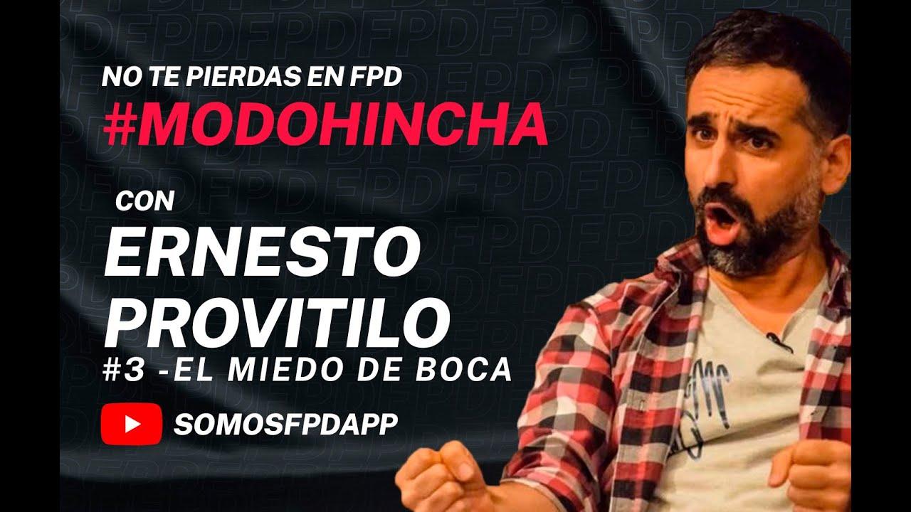 #MODOHINCHA:💣💣#ERNO, EL SORTEO DE LA LIBERTADORES Y EL MIEDO DE BOCA😱💣