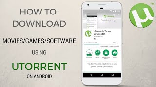 How To Download Torrent File For Free On Android Phones/Tablet 2018 bangla|| Tech MandariN
