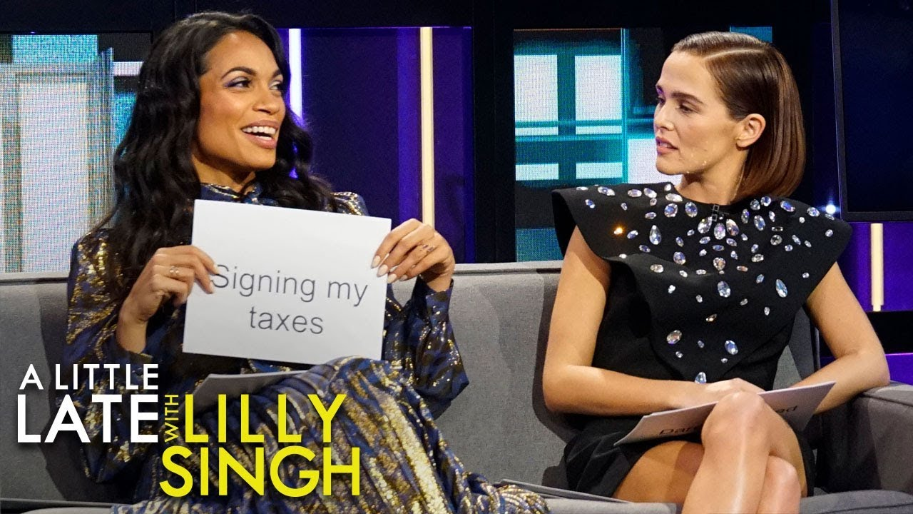 The Last Thing with Rosario Dawson and Zoey Deutch