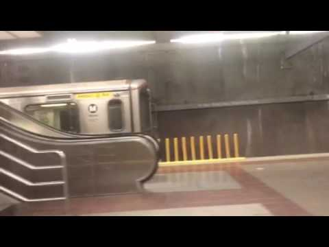 The Metro Red Line To Pershing Square Station!!!- July 30, 2017