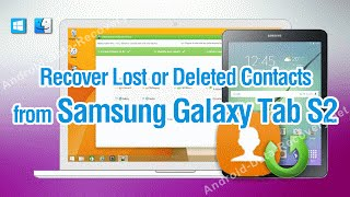 How to Recover Lost or Deleted Contacts from Samsung Galaxy Tab S2