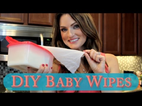 How to make DIY Baby Wipes for baby