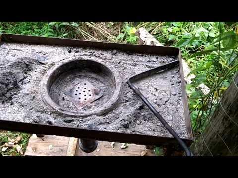 Backyard Forge backyard blacksmith forge - youtube