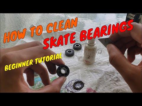 HOW TO CLEAN SKATEBOARD BEARINGS | BEGINNER TUTORIAL