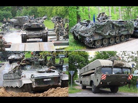 2017 Heidesturm Teil 3/3 - Bundeswehr Manöver der Panzerlehrbrigade 9