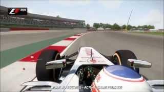F1 2013 Gameplay Trailer 【HD】