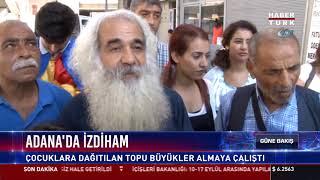 Adana'da izdiham