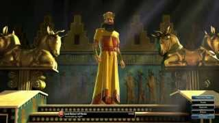 Civilization V Leader | Darius I of Persia
