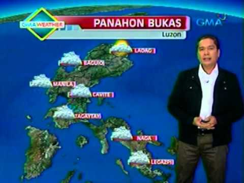 24oras: GMA Weather Update July 20, 2012