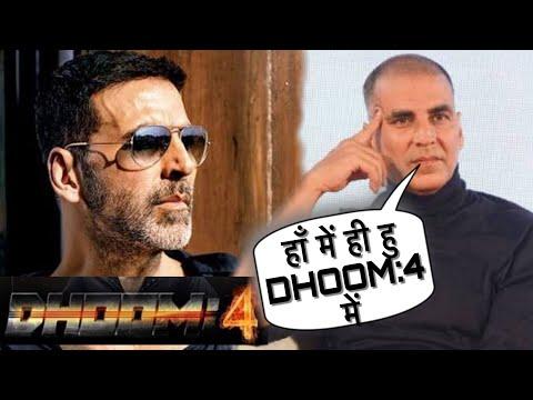 DHOOM 4:Exclusive News, Akshay Kumar Interview Yash Raj Banner की Film DHOOM 4 की Announcement