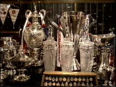The Ibrox Trophy Room