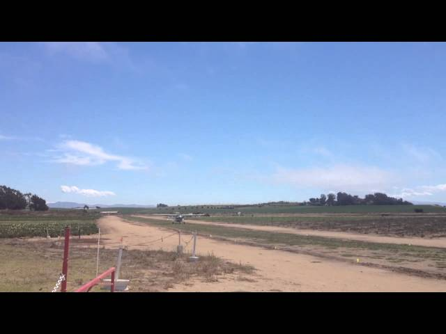 Two Planes Takeoff and Land at Monterey Bay Academy