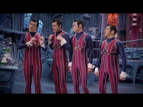 "We are number one but every ""one"" is replaced with spiderman slap ass"