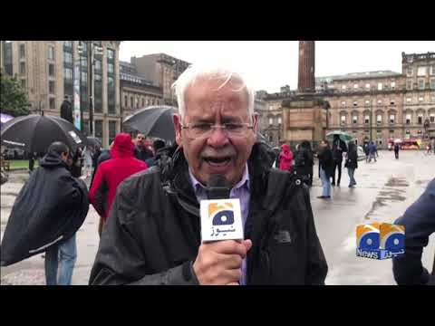 Geo News Special – Glasgow stages protest against Indian atrocities in Occupied Kashmir