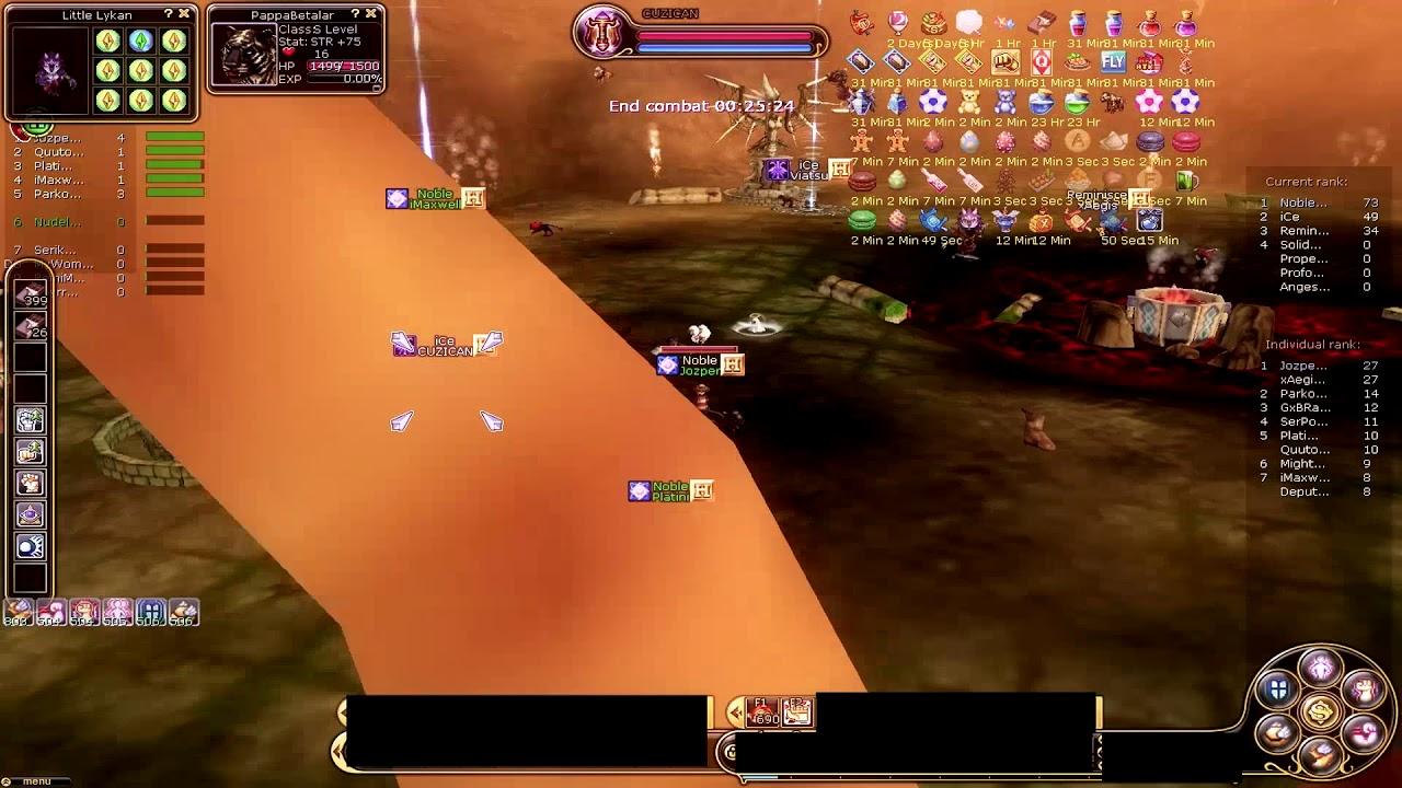 Flyff Guild Siege Tanuki 2019-07-13 PoV Jozper/Axeell by iPredHD