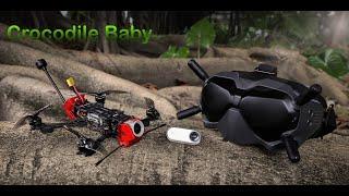 Vidéo: GEPRC Crocodile Baby 4″ HD BNF