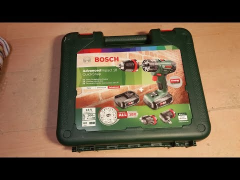 Produkttest Bosch Advanced Impact 18 QuickSnap